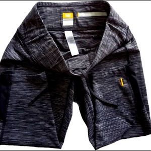 Black/Gray Lucy Activewear Leggings